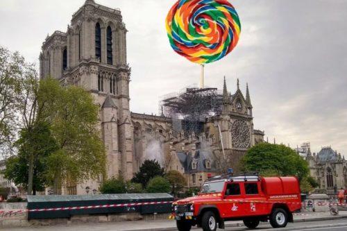 8aa0565f528 Pariisi Jumalaema kiriku taastamise võiduprojekt teada: põlenud torni  asemel tuleb suur pulgakomm