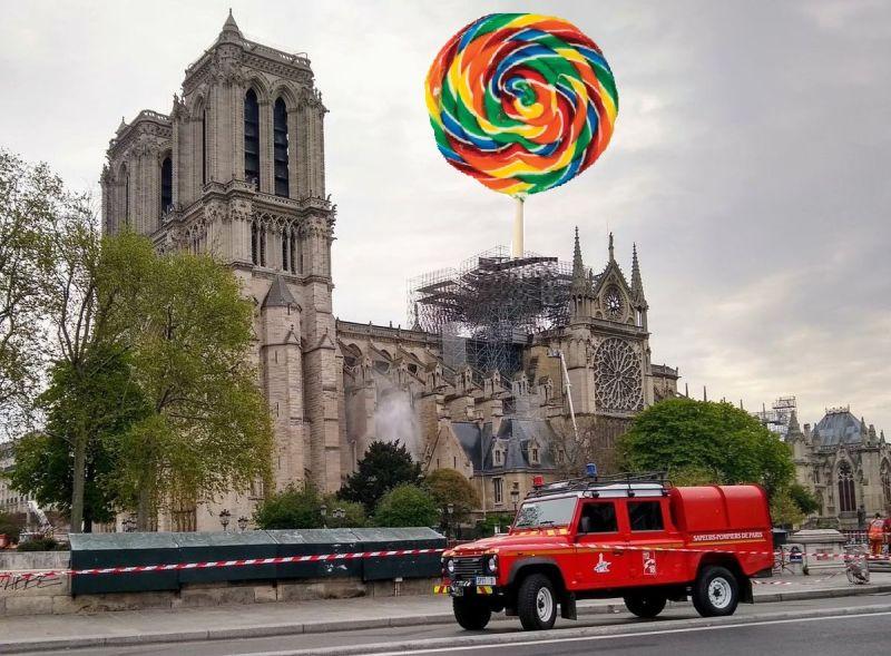 Pariisi Jumalaema kiriku taastamise võiduprojekt teada: põlenud torni asemel tuleb suur pulgakomm