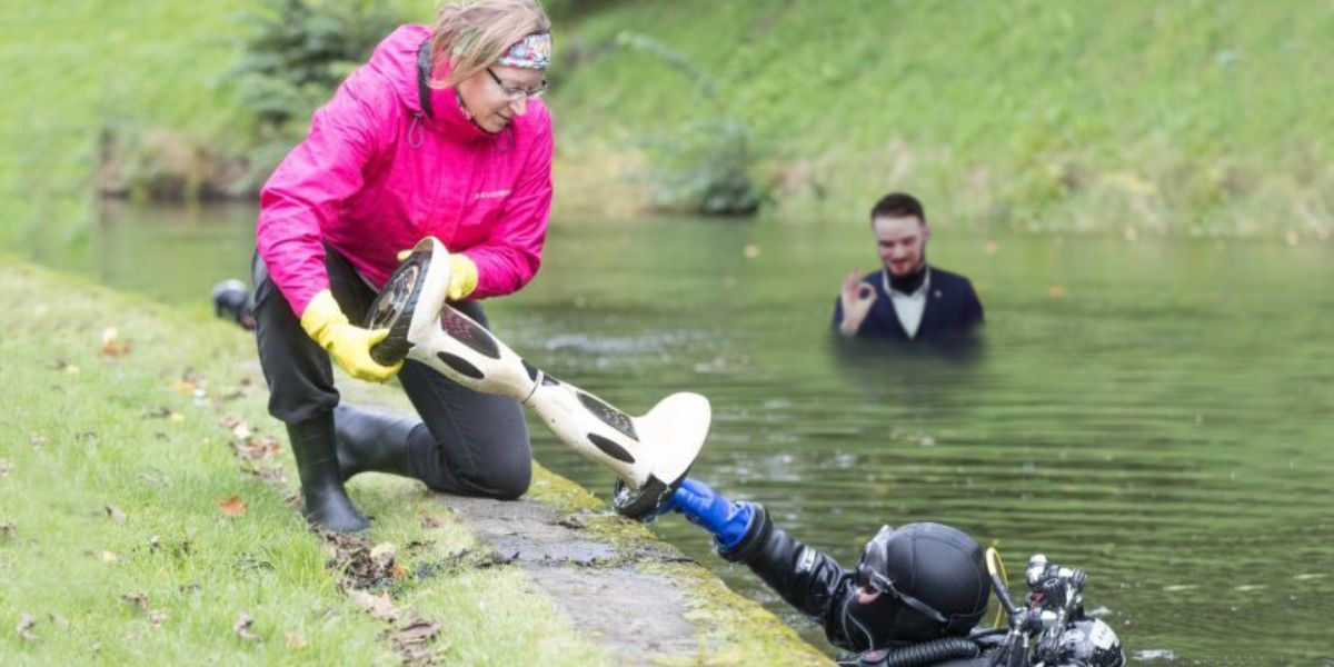 Snelli tiiki maha jahtuma saadetud Ruuben Kaalep tekitas sukeldujates asjatut segadust