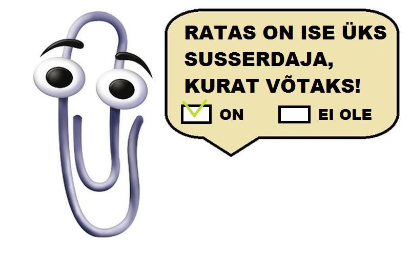 3a6a4052c25 Veel eelmisel nädalal oli kindel, et Eesti saab esimese virtuaalministri  ning selleks valitakse seni pikalt töötu olnud Kirjaklamber.
