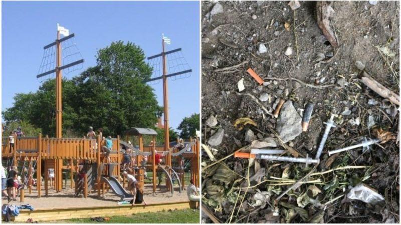 Linn uuendab Stroomi mänguväljakud, autentsuse huvides lisatakse ka kasutatud süstlad ja kondoomid