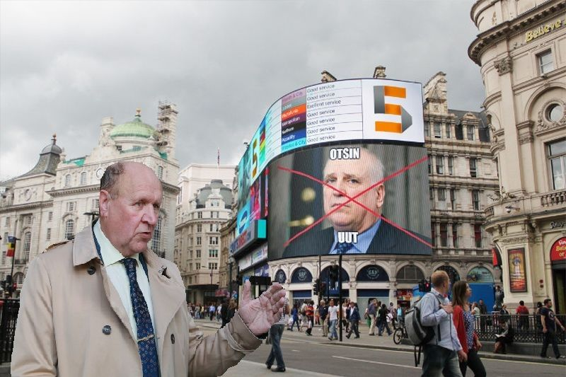 Mart Helme sõitis poja Martini soovitusel Londonisse uut maaeluministrit otsima