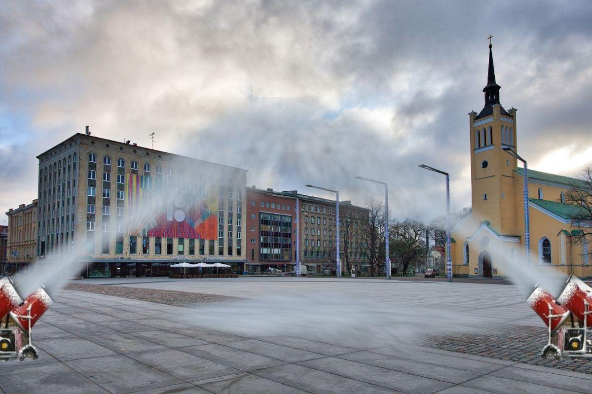 SUUR LUGU: Tallinna linn hakkab ise kunstlund tootma, et lumekoristustehnika rooste ei läheks