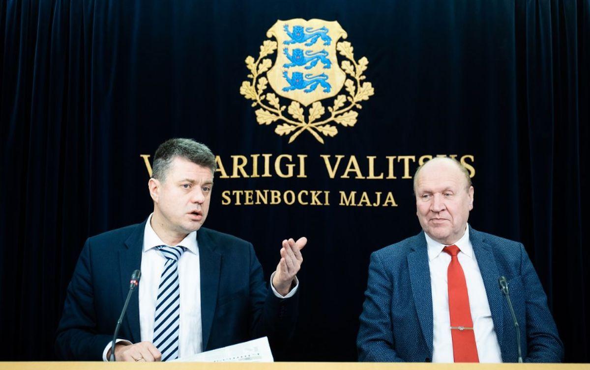 VALITSUS: on kahetsusväärne, et eestlased ei tervita meid kõikjal tormiliste kiiduavaldustega